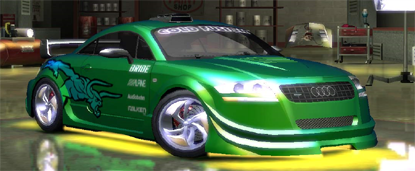 My NFSU2 ride, dawg
